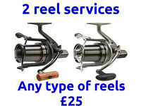 Reel Servicing For 2 Reels, Carp Coarse, Sea, Drop off & Collect Stretford /Manchester M32