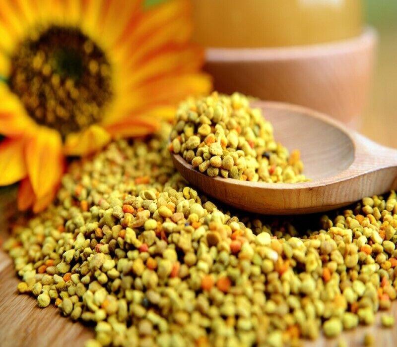 Honey Bee Pollen Granules Raw 100% Organic All Natural