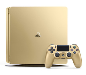 Sony Playstation 4 Slim Limited Edition Gold
