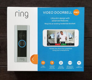 Brand New Factory Sealed Ring Video Doorbell Pro