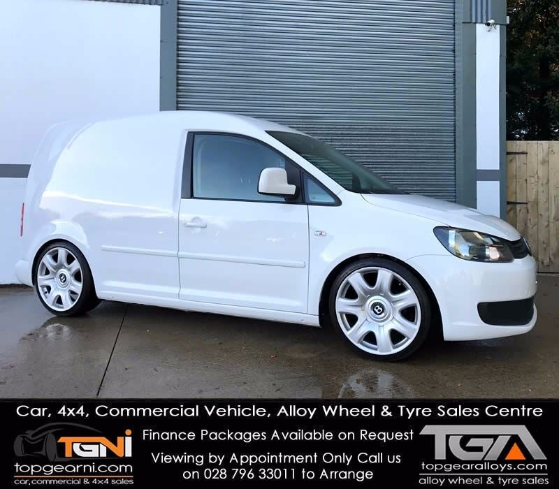 Stunning White VW Caddy TDI Modified (Not Berlingo, Partner, Vivaro ...