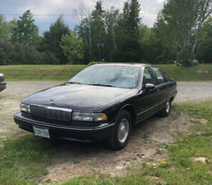 Clean and straight 91 Chev Caprice Classic.Price Reduced...