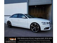 Audi A4 New Model TDI Bright White Black Edition Style - Not S-Line