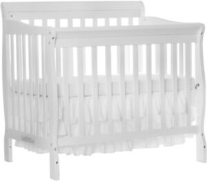 White 4-in-1 Convertible Crib