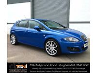 Sprint Blue SEAT Leon TDI with Nice Miles (Not Golf, A3, Jetta, Passat, A4, Astra etc)