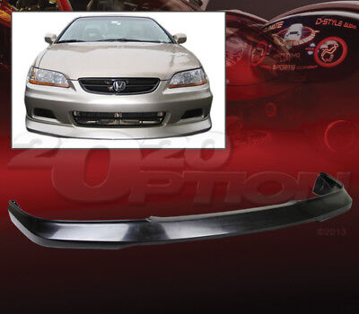 OE STYLE POLYURETHANE FRONT BUMPER LIP SPOILER FOR 01-02 HONDA ACCORD 2DR COUPE Coupe Oe Style Spoiler