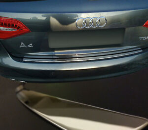 REAR BUMPER SILL COVER TRIM IN STAINLESS STEEL FOR AUDI A4