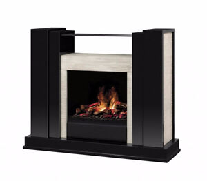 Dimplex GDSOP-1059GB Rockwell OptiMyst Electric Fireplace with H