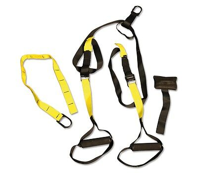 Suspension Trainer Training Band Fitness Straps Strength Workout Crossfit MMA