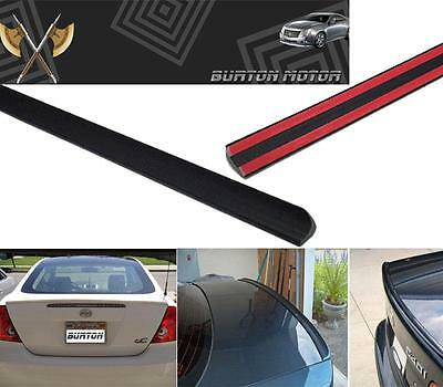 Civic Del Sol Spoiler - For 1993-1997 Honda CRX CIVIC Del Sol Trunk Lip Spoiler