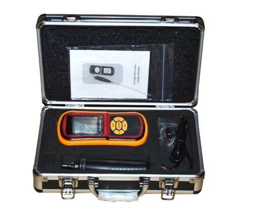 Digital Vibration Meter Tester Vibration Measurer 9V Dry Battery powered