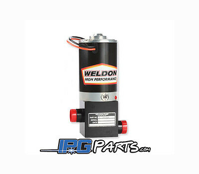 Weldon D2015-A (2015) Racing Electric Fuel Pump -8AN Inlet & -8AN Outlet