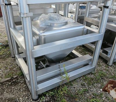 Tote Inc 10 Cft Stainless Steel Bins