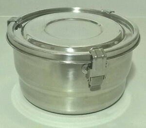 Stainless Steel airtight Watertight Food Storage Container 18/8