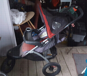 SCHWINN 3 WHEEL JOGGING BABY TODDLER STROLLER