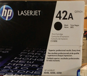 HP Laserjet 42A Printer Ink/toner cartridge