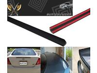JR2 For 2004-2008 Acura TL-Rear Window Roof Spoiler 05 06 07 Unpainted
