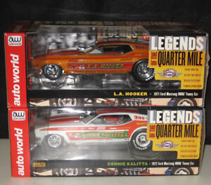Large Assortment of Drag Racing Die-Cast