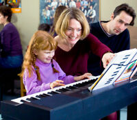 Music for Young Children - Piano group classes, lots of fun