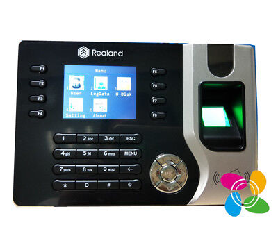 A-c071 Realand Fingerprint Time Attendance Time Clock With 125khz Rfid Card