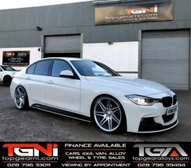 "20"" Staggered Axe EX31 wheels for BMW F30 or F31 3 Series Etc"