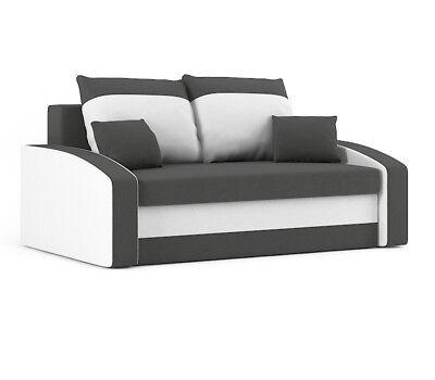 Sofa HEWLET mit Schlaffunktion BEST SOFA mit Bettkasten! ()