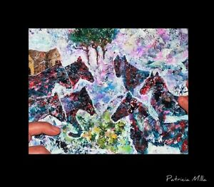 Peinture Tableau Painting Tableaux Abstract Abstraite by MILLA! West Island Greater Montréal image 1