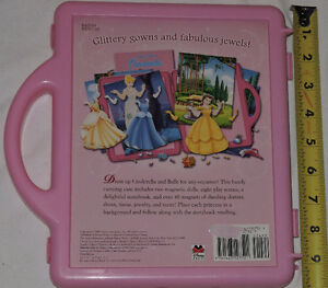 Qty 2 x Disney Princess Fashions - Magnetic Book and Play Sets London Ontario image 2