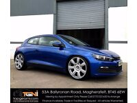 Stunning Rising Blue Scirocco TDI For Sale (Not Golf, Leon, A3, A4, Astra etc)