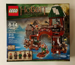 Lego The Hobbit 79016 - Attack on Lake-Town