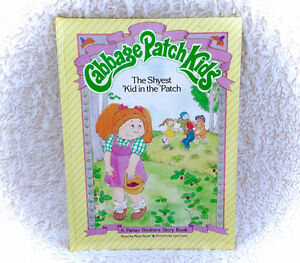 1984 Cabbage Patch Kids The Shyest Kid In The Patch Hardcover Bo