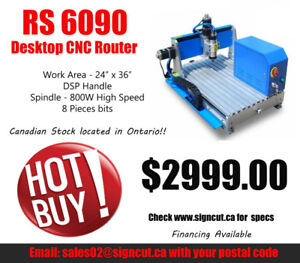 RS6090 CNC Desktop Router
