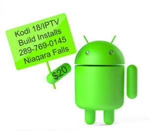 Android Box Programming Kodi 18/ IPTV Included $20