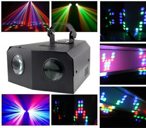 DJ Disco Doppelter LED Licht Moonflower Effekt Party Lichteffekt Show Laser