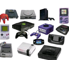 Wanted consoles & games