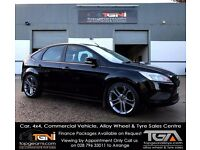 Ford Focus Style Black Low Mileage (Not Astra, Golf, A3, Fiesta, Corsa, Civic etc)