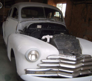 1947 / 1948 Chevrolet Coupe , Fleetmaster  Stylemaster  , Chevy