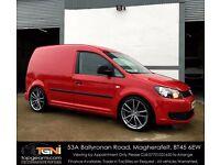 VW Caddy Van TDI Salsa Red (Not Berlingo, Partner, Vivaro, Trafic, Transit, Transporter etc)