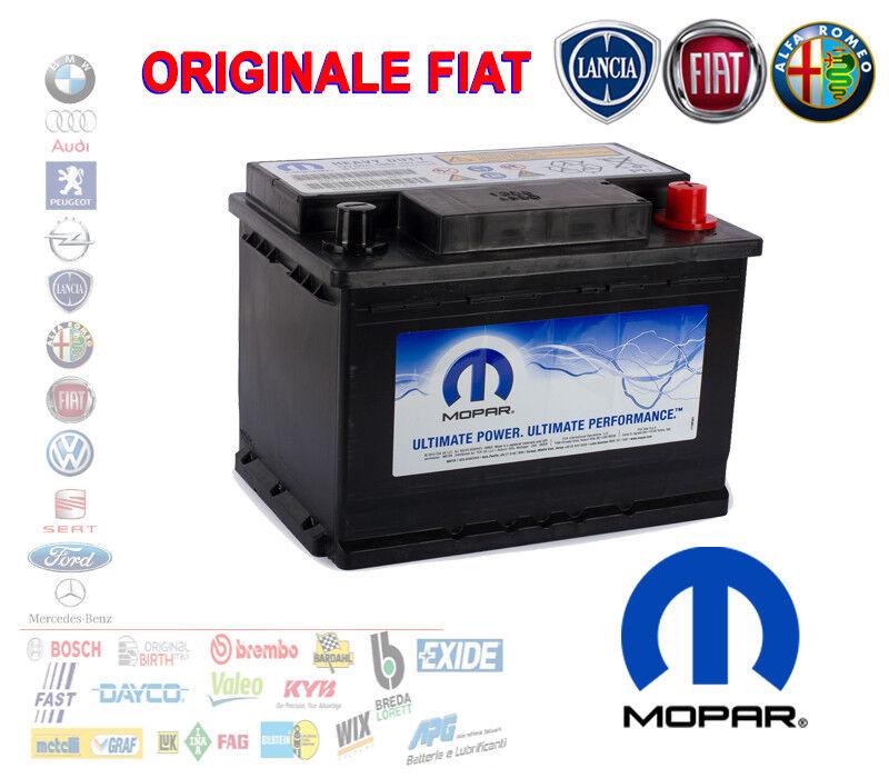 BATTERIA AUTO START&STOP 60 AH 500A ORIGINALE FIAT 71777953 ALFA LANCIA