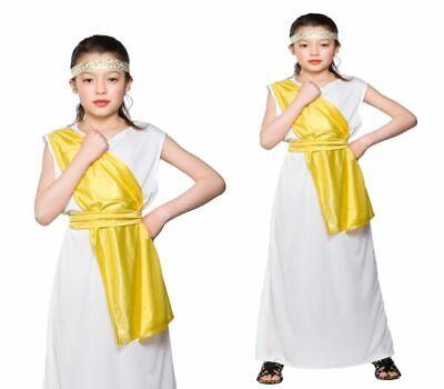 Mädchen Altertümlich Griechisch Kostüm Party Toga Outfit Kinder - Weibliche Gladiator Kostüme