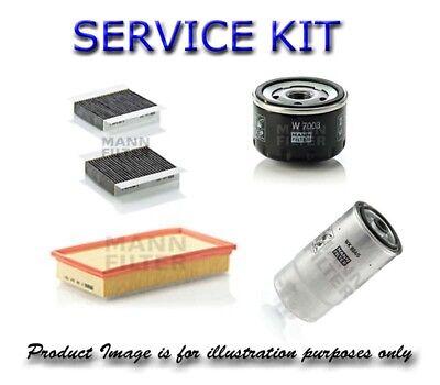 Service Parts for CITROEN C3 Air Fuel Cabin Oil Filters