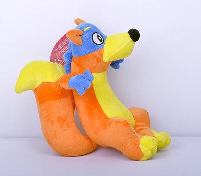 Cute Dora The Explorer 8  Swiper Fox Plush Doll Toy   Super Fast Shipping New Us