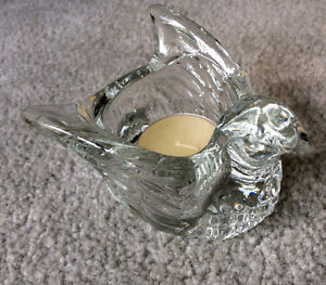 Dove Tealight Candle Holder