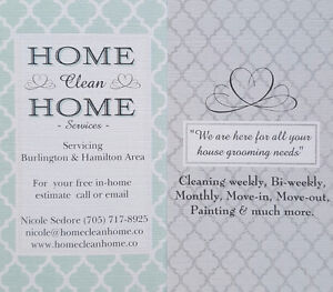Moving? Do you require cleaning and or painting done?