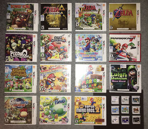 3DS Games_Smash Bros, Zelda, Mario Kart 7, Mario 3D Land ...
