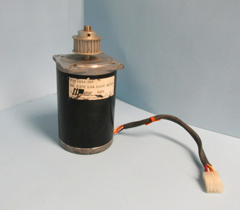 APPLIED MOTION PRODUCTS 2.47V 5.9AMP 5034-392 MOTOR