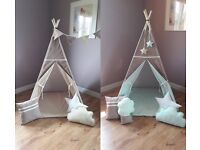 Play tent, for outdoors or indoors, for kids, new