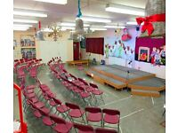 Hall Hire at Grasvenor Avenue Infant School - Contact us for pricing PER HOUR!