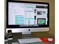 iMac 27 Intel Quad Core i5 2.7GHz 1GB Graphics 16GB RAM 1TB HDD Office FinalCut Wireless Keyboard!