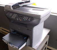 HP Commercial Network All-In-One Laser Printer-Fax/Copy/Scan